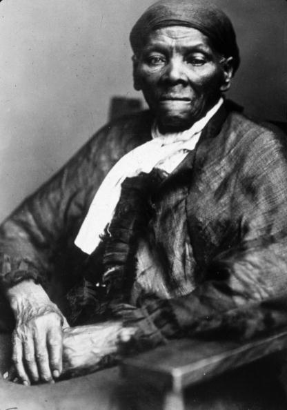 American abolitionist leader and former slave Harriet Tubman's most shared photo on social media