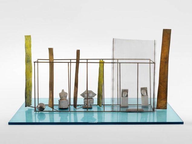 Fausto Melotti, Piccolo museo sull'acqua (Little Museum on the Water), 1979.