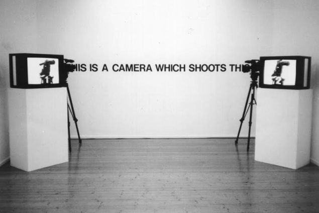 Takahiko Iimura, This Is A Camera Which Shoots This, (1980).