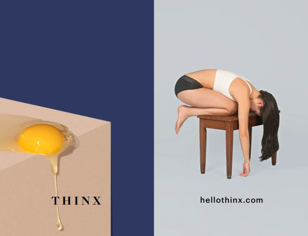 An image from the Thinx ad campaign.