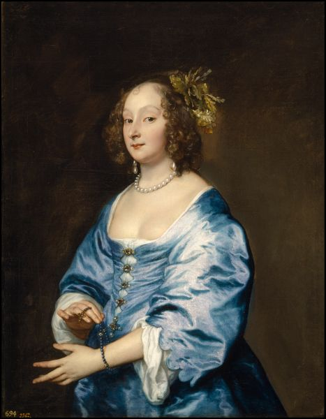 Anthony van Dyck (1599–1641) Mary, Lady van Dyck, née Ruthven, ca. 1640.