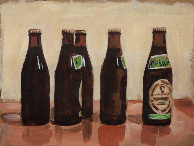 Walter Robinson, Five Beers, (2009).