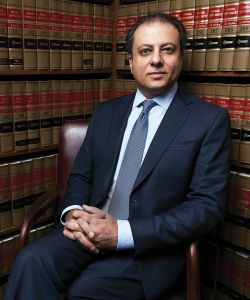 United States Attorney for the Southern District of New York, Preet Bharara.