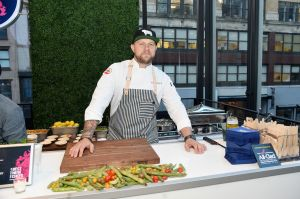 Our personal favorite dish was from the new winner of Top Chef, Jeremy Ford.