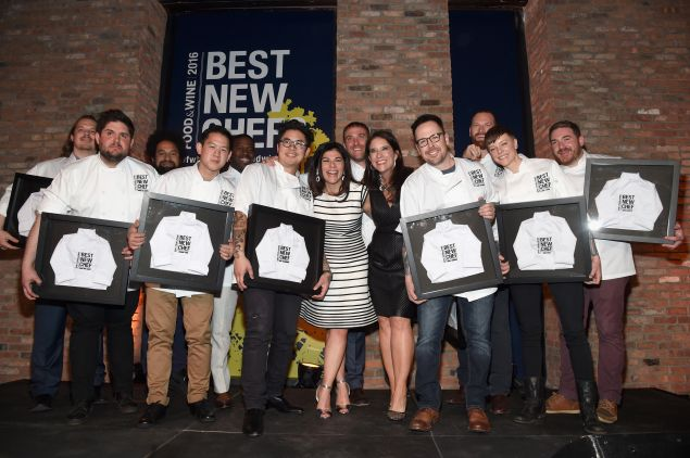 The newly anointed Best New Chefs class of 2016.