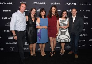 Marc Murphy, Christina Grdovic, Barbara Banke, Julia Jackson, Nilou Motamed and Tom Colicchio all gathered to celebrate the new generation of culinary talent.