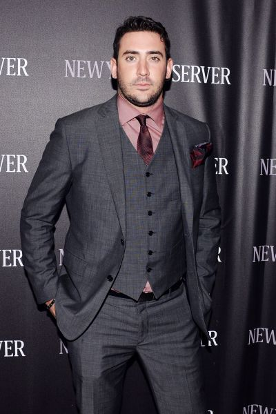 Matt Harvey at a party hosted by The New York Observer.