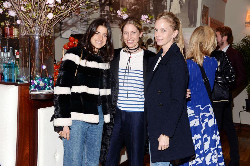 Leandra Medine, Valerie Boster, Meredith Melling-Burke