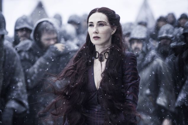 Carice van Houten as Melisandre in Game of Thrones.