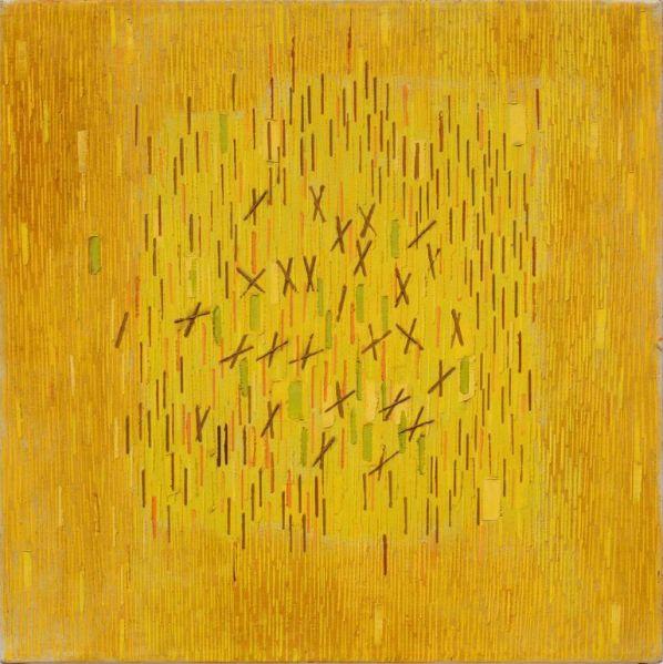 Lee Mullican, Phantom Canvas, (1961).