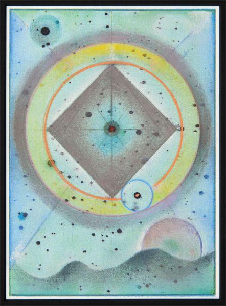 Jordan Belson, Oceanic Blues, 2003.