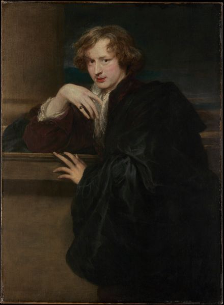 Anthony van Dyck (1599–1641) Self-Portrait, ca. 1620–21.