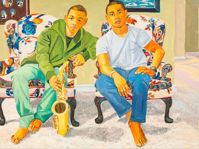 Jordan Casteel, Crockett Brothers, 2015.