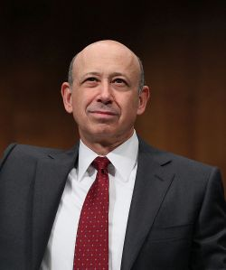Lloyd Blankfein, chairman and CEO of The Goldman Sachs Group.