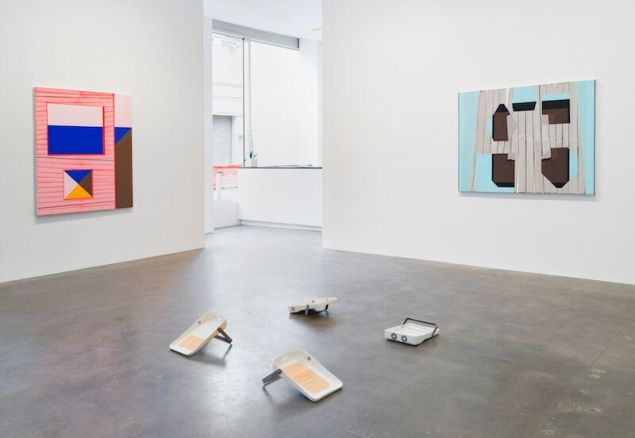 Gary Stephan and Alina Tenser , Installation view, Susan Inglitt Gallery.