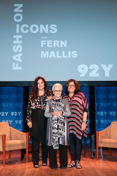 Rosita and Angela Missoni discuss love, family, and zig zags with Fern Mallis