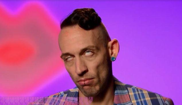 Acid Betty on RuPaul's Drag Race.