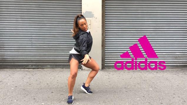 Nicole Winhoffer's Adidas commercial