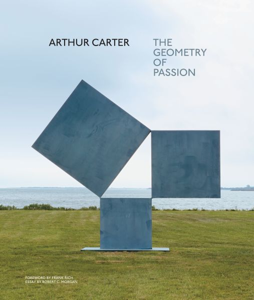 The cover of Mr. Carter's monograph, Arthur Carter: The Geometry of Passion, published by Abrams Books.
