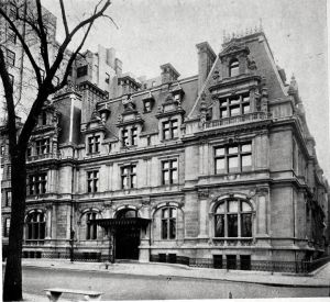 The Astor Mansion at Fifth Avenue and 65th Street, 1926.