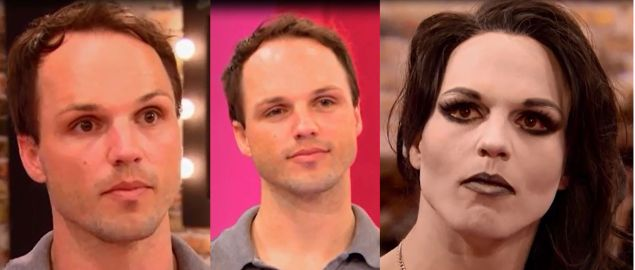 The many faces of Derrick Barry.