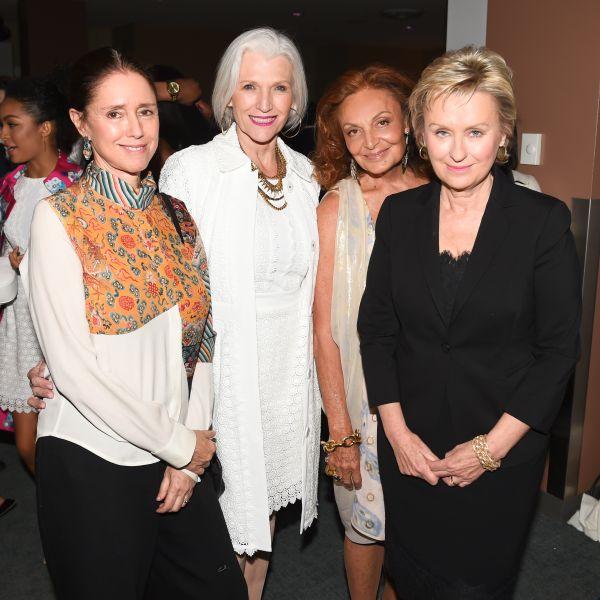 Julie Taymor, Maye Musk, Diane Von Furstenberg, Tina Brown