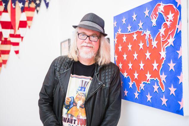 Artist Ron English.