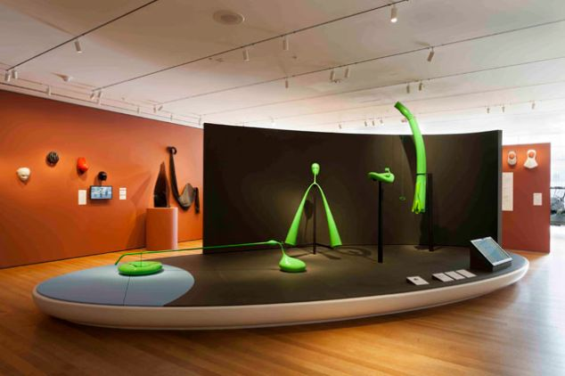 """MoMA's 2012 exhibition, """"Born Out of Necessity"""""""