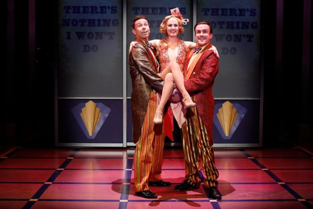 Jeremy Benton, Ellen Zolezzi and Josh Walden in Cagney.
