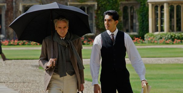Jeremy Irons and Dev Patel in 'The Man Who Knew Infinity.'