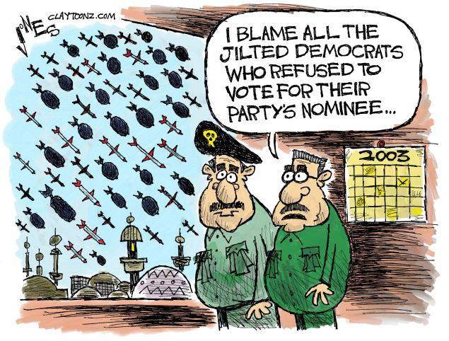 Jilted Democrats.