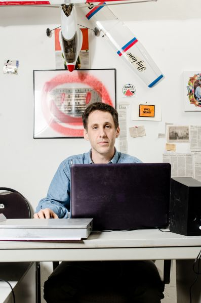 Dan Seiple in his Berlin studio.