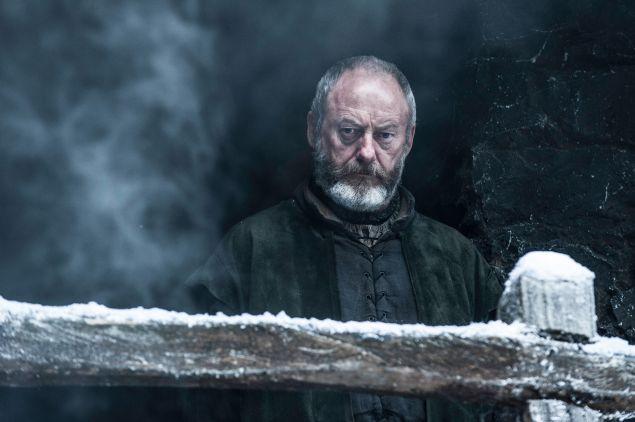 Liam Cunningham as Davos Seaworth.