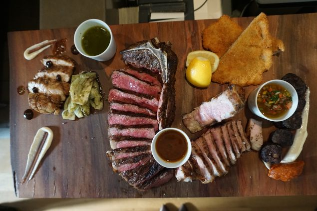 Wolfgang Puck offers up a feast worthy of Argentina.