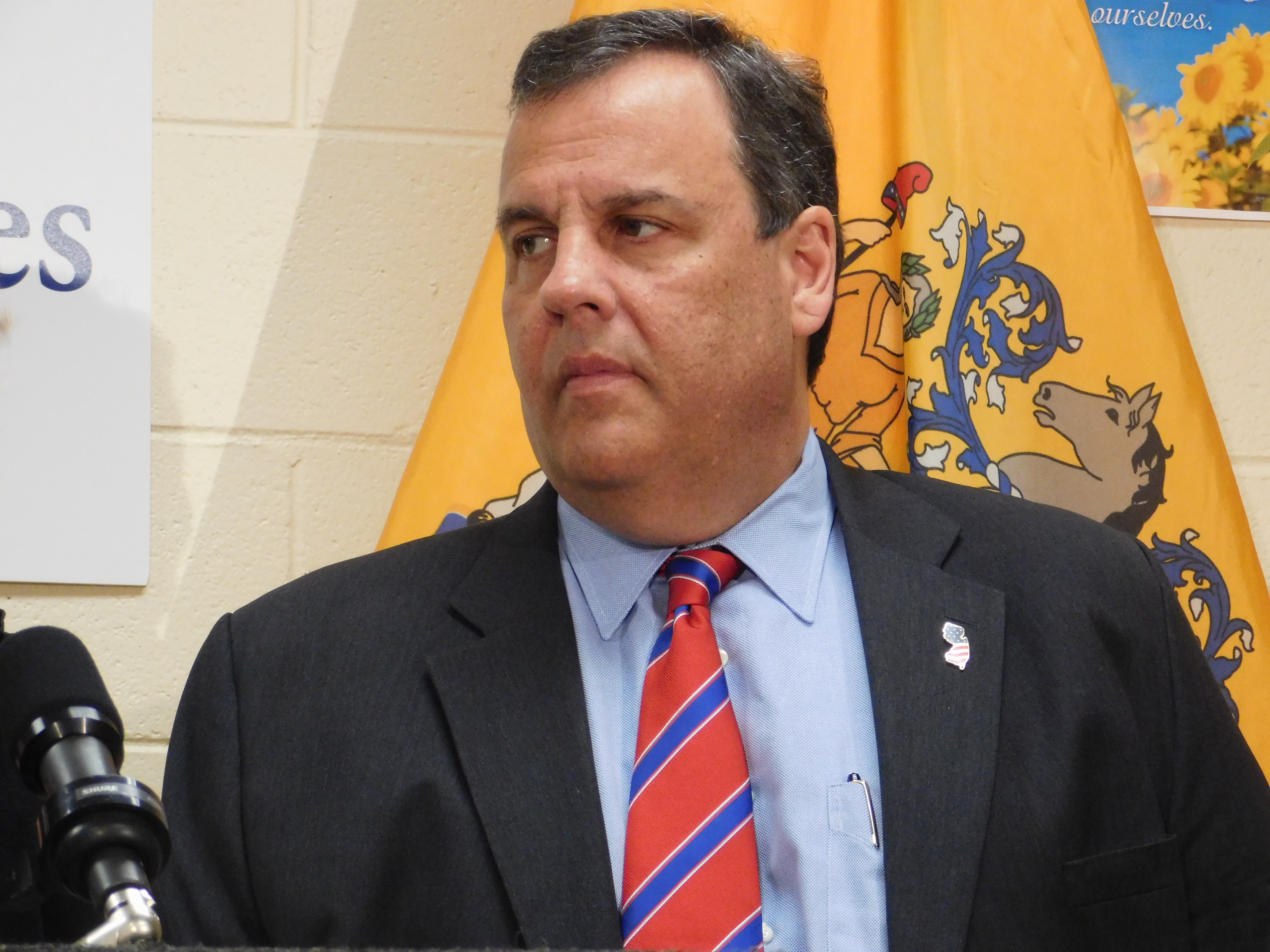 Christie in Trenton.