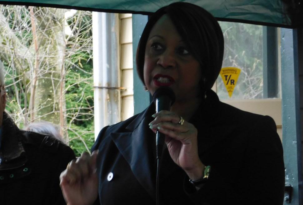 Shiela Oliver is a former Assembly Speaker.