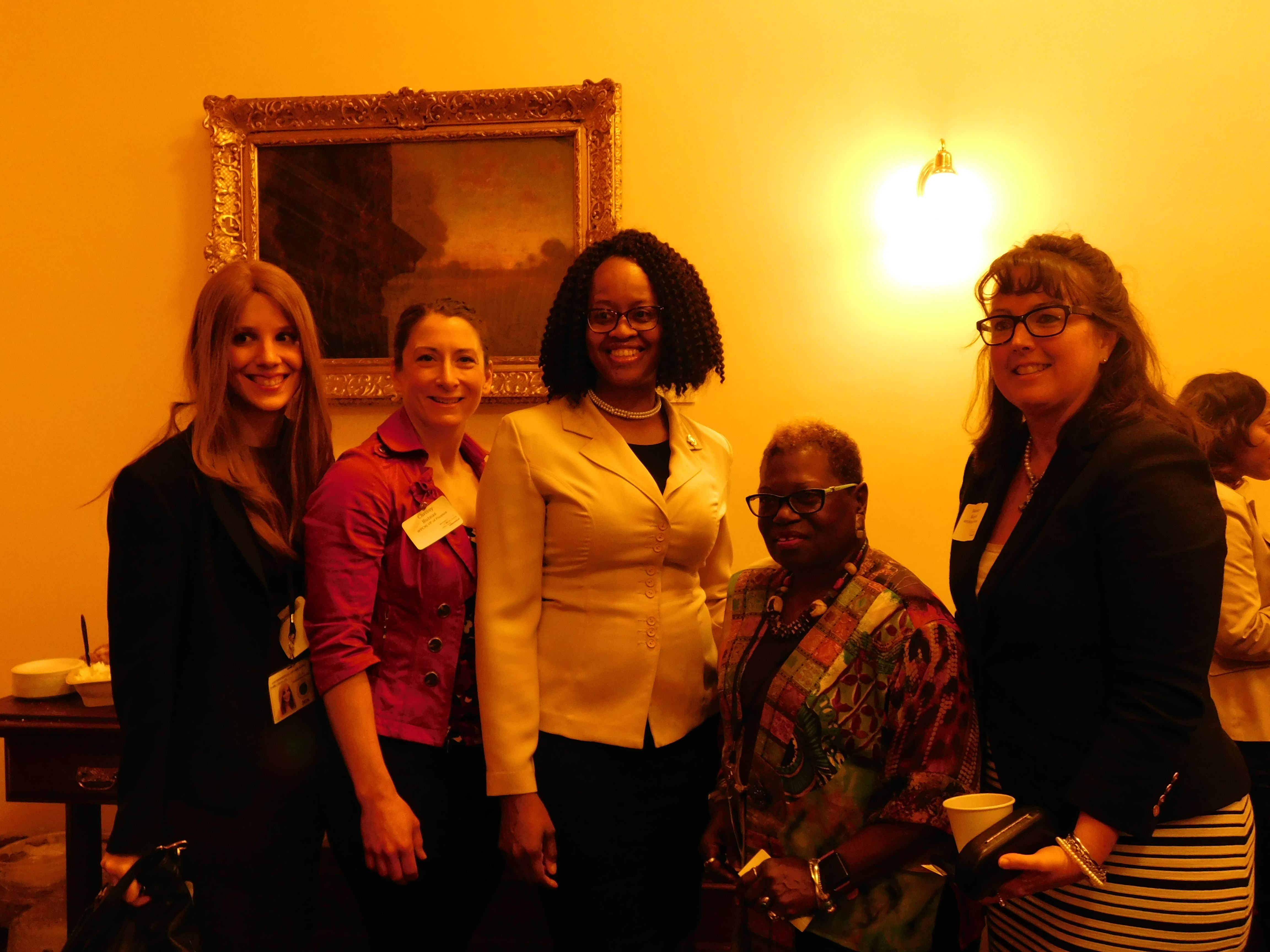 The Women's Political Caucus of NJ held a networking breakfast on April 14.