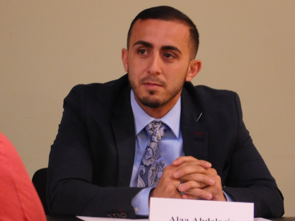 Abdelaziz is running to represent Ward 6.