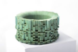Emerald Bangle by Genevieve Howard