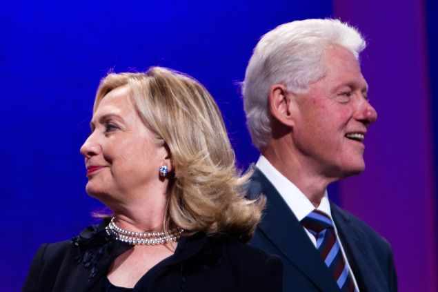 The Clintons in September 2011, when Hillary was Secretary of State.