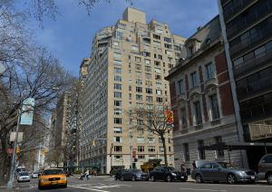 Not quite as affordable as its neighbors further east of the Park: Fifth Avenue