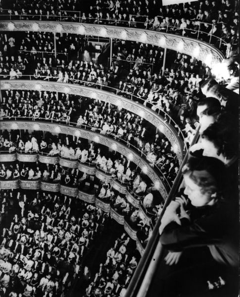 1938: When the music events people attended were the distractions, and not just another venue for juggling distractions.