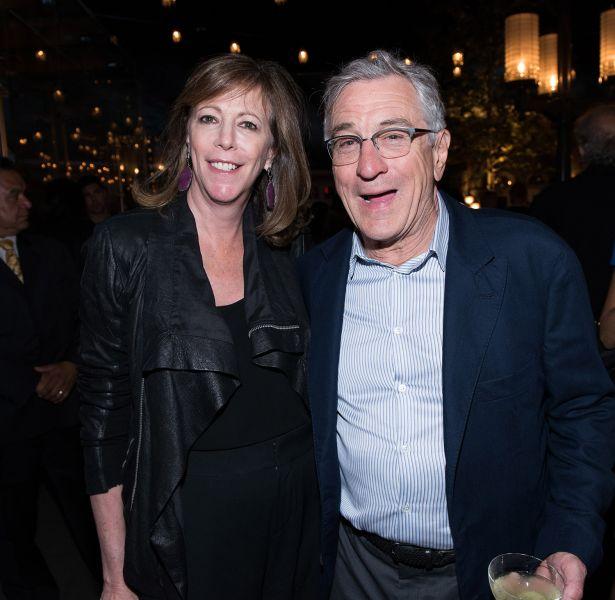 Jane Rosenthal and Robert De Niro.