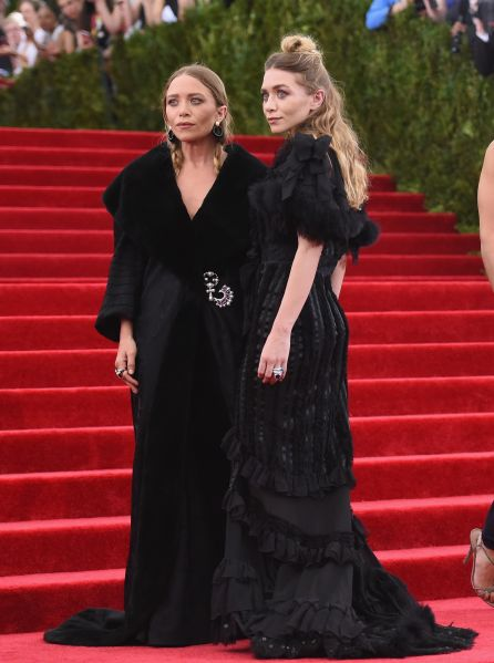 The Olsens on the red carpet