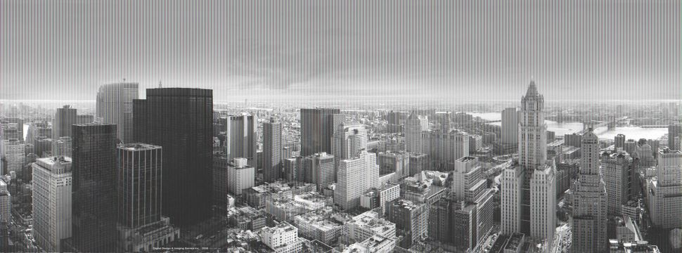 In this handout from Foster Maki Rogers, a artist's rendering released September 7, 2006  shows the Manhattan and Brooklyn skylines as seen from the future Freedom Tower. World Trade Center developer Larry Silverstein and architects Norman Foster, Richard Rogers and Fuhimo Maki unveiled designs for three new skyscrapers on the site of the former World Trade Center that will replace the buildings destroyed in the 9/11 attacks.