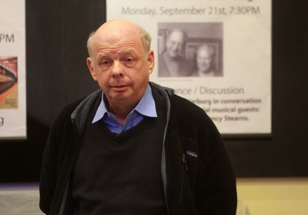 "Writer and actor Wallace Shawn promotes ""Essays"" at Barnes & Noble, Lincoln Triangle on September 1, 2009 in New York City."