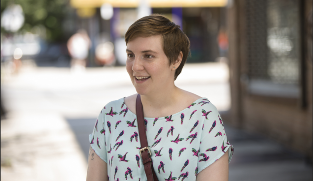 Lena Dunham as Hannah Horvath.