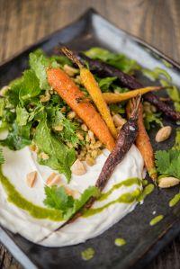 Honey Spiced Carrots & Puffed Farro Salad