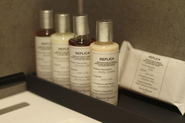 Maison Margiela bath products