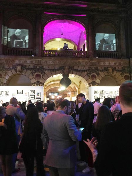 The Free Arts NYC Benefit Auction at the Surrogates Courthouse.